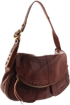 Lucky Brand Stash Leather Foldover Hobo Shoulder Bags e2b1307b47b