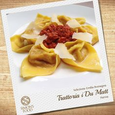 Cappellacci con zucca e sugo alla salsiccia Parma, Waffles, Breakfast, Food, Waffle, Hoods, Meals