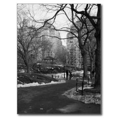 Black White NY Central Park Post Card Sold to Germany! Thanks :) #centralpark NYC
