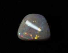 Semi-Black Opal - 1.47ct Lightning Ridge Opal, Australian Opal, Loose Opal, Single Opal, Trapezium  Shape by MsOpalWorld on Etsy