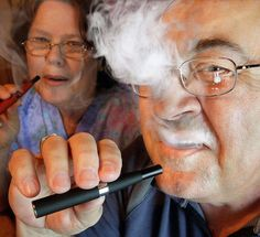 a positive whiff of ecigs