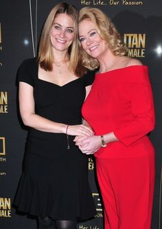 Cybill Shepherd with daughter Molly Ariel Shepherd (born Oct 6, 1987)