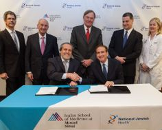 We are excited to announce the formation of a new joint venture: The Mount Sinai Hospital – National Jewish Health Respiratory Institute. The new venture will combine the strengths of two top-ranked health care systems to support differentiated care and research in #respiratory and related diseases. The Respiratory Institute will open on the campus of the Icahn School of Medicine in 2014.