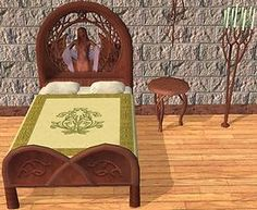 Mod The Sims - Elven Bedrooms (and Bedding)