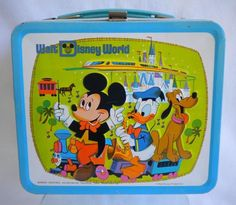 Walt Disney World lunch box.