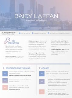 The 8 best resume builders. CV with colorful photographic design by wielofa Best Resume, Resume Tips, Resume Cv, Resume Template Free, Creative Resume Templates, Bank Teller Resume, Job Resume Samples, Interview Advice, Functional Resume