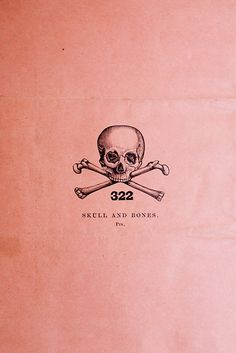 Cute skull and bones tattoo idea, no letters or numbers of course