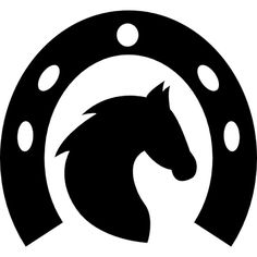 Horse head in a horseshoe free vector icons designed by Freepik Foto Cowgirl, Cowboy And Cowgirl, Horse Drawings, Art Drawings, Machine Silhouette Portrait, Horse Template, Jesus Wallpaper, Horse Logo, Image Clipart