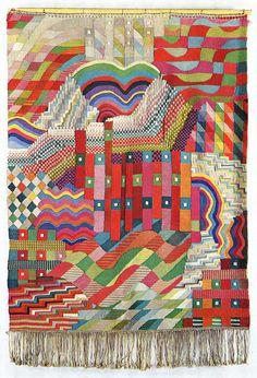 Gunta  Stolzl Bauhaus weaving  AMAZING!