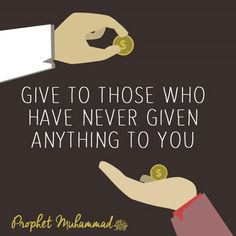 Islam is the religion of giving forgiveness .give money to poor ,they need it more than you think!! :-)