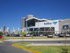 """""""RioMar Shopping"""".  Fachada. * Recife, Pernambuco. Brasil. *"""