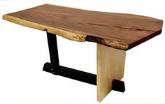 wood and metal combo legs
