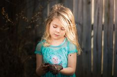 Capturing everyday candids of children. DIY photography ideas. Fun outdoor play for children. Brittney Owens Photography: Mud play in the yard {Fort Smith AR Photographer}