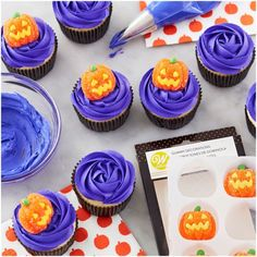 Gummy Jack O'Lantern Pumpkin Decorations, 8 Count by Wilton. These scary ghosts will boo -st your treats. Add these to cupcakes, sugar cookies, molded chocolate candies and more. Gummy Jack O'Lantern pumpkins, perfect for Online Craft Store, Craft Stores, Spirit Halloween, Fall Halloween, Global Sugar Art, Ghost Decoration, Brownie Toppings, Halloween Baking, Spooky Treats