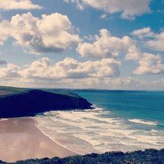 Mawgan Porth, Cornwall.