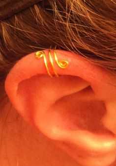Spiral Ear Cuffs qty 2 12 colors available by DazzlingAdornments, $7.75