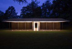Capel Manor House Guest Pavilion by Ewan Cameron Architects