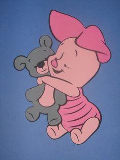 Winnie the Pooh Tigger Piglet Eeyore Baby by ThePaperdollPrincess, $15.00