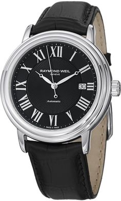 Luxury watches : Raymond Weil Maestro Automatic Date Men's Automatic Watch 2847-STC-00209