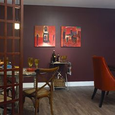 Benjamin Moore 1365 Bordeaux Red