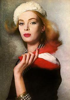 Nena von Schlebrugge photographed by Louise Dahl-Wolfe, 1959