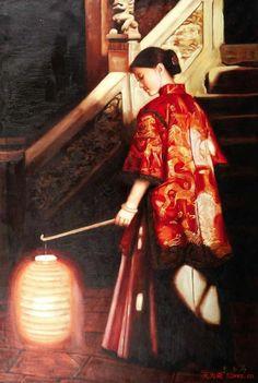 by Zhu Yi Yong (was born in Chongching, Sichuan Province, in 1957)