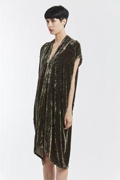 Everyday Dress, Velvet in Shetland – Miranda Bennett Studio, LLC