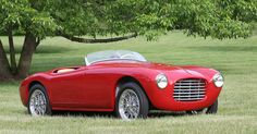 1952 SIATA 300BC 750 SPORT SPIDER - coachwork by Carrozzerie Bertone of Turin.  Chassis no. ST 403 BC Engine no. 308748