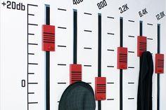Clothes Track by Rocket Design Rocket Design, Hat Stands, Coat Hanger, Hangers, Bar Chart, Track, Clothes, Outfits, Coat Racks