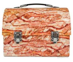 whatchu got for lunch? bacon?