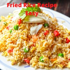 Cooking Jasmine Rice, Cooking White Rice, How To Cook Chicken, Cooked Chicken, Garlic Chicken, Low Calorie Recipes, Healthy Recipes, Moo Shu Pork, How To Cook Eggs
