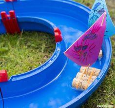 Mooi weer? Tijd voor waterspelletjes!   Water activities - Moodkids #summer #fun #water