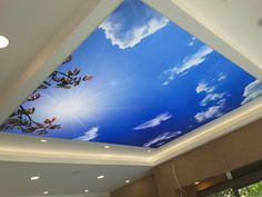 3 Creative and Modern Tricks Can Change Your Life: False Ceiling Bedroom Modern false ceiling ideas brick walls. Ceiling Chandelier, Diy Ceiling, Lobby Interior Design, Ceiling Plan, Colored Ceiling, Ceiling Decor, Modern Ceiling Light, False Ceiling Design, Ceiling Lights