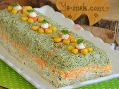 Üç Renkli Brokoli Salatası Resimli Tarifi - Yemek Tarifleri