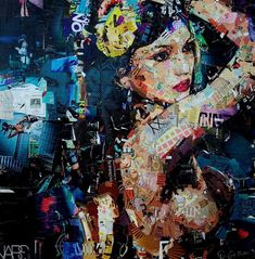Collage Beauty: Art Chaos Controlling by Derek Gores – DesignSwan.com