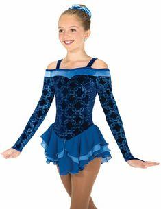 Blue skate dress