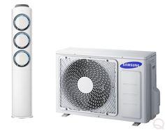 Samsung RAC Q9000 AF24FSSDAWKNEU Floor Standing Inverter Heat Pump System Inc. Remote Control