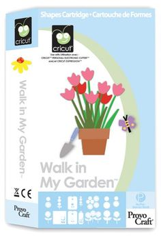 Cricut® Walk in My Garden Cartridge - Cricut Shop