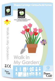 Cricut® Walk in My Garden Cartridge - Cricut Shop