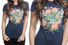 "Womens Crew Neck- ""Greater Calling""   Saving orphans one tshirt at a time :)"