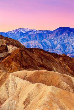 Shades of Morning - Death Valley California