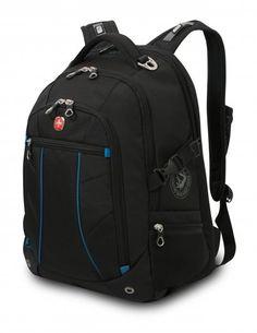 Wenger Backpacks Freizeit Business Rucksack 17 Zoll schwarz-dunkelblau