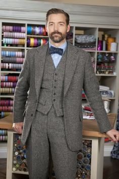 The 3-piece Tweed as worn by Patrick Grant of E. Tautz & Norton & Sons