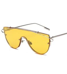 Celebrity Sunglasses Yellow Rihanna Online Shop