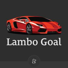 Introducing: Lambo Goal (a new podcast). Two entrepreneurs take you behind the scenes and share real numbers. http://LamboGoal.com