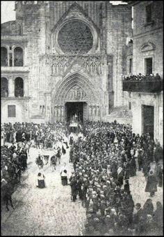 PROCESION DEL CORPUS CA 1897 / Valencia / tradiciones / vintage photography / fotografía