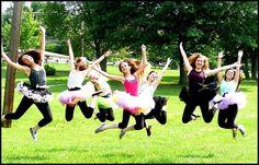 Ballerinas at the playground. Summer Dance fun!! Program begins June 15, 2015