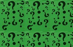 riddler question mark template - Google Search