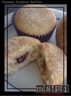MSPI Mama: Cinnamon Doughnut Muffins
