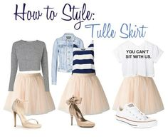 How to style your tulle skirt. TutusChic on the Accidental Artist